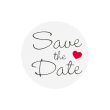 Sluitzegel save-the-date