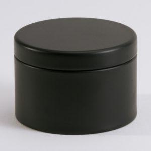 Blikken doopsuikerdoosje zwart (781.110)