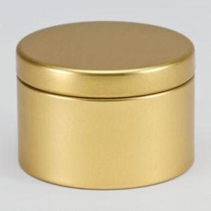 Blikken doopsuikerdoosje goud (781.111)
