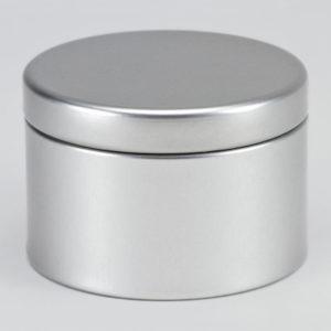 Blikken doopsuikerdoosje zilver (781.112)