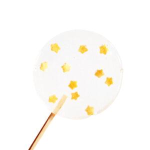 Lolly met gouden sterren