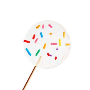 Lolly met mulitcolor sprinkles