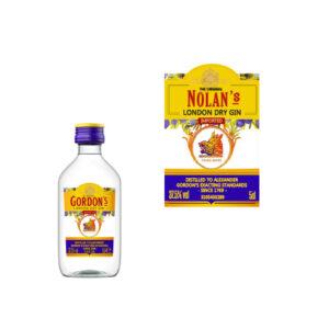 Gordon's Gin mini flesje met naam